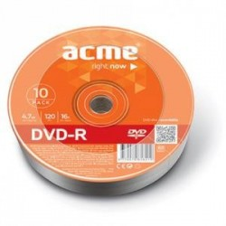 DVD-R Acme 4.7GB 16X Szpindel 10pack