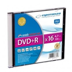 DVD+R Esperanza 16x 4,7GB (Slim 1)