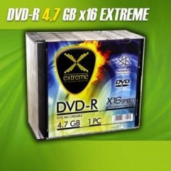 DVD-R Extreme 16x 4,7GB (Slim 10)
