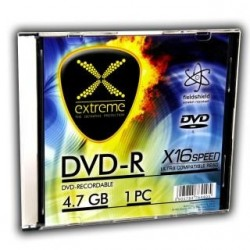DVD-R Extreme 16x 4,7GB (Slim 1)