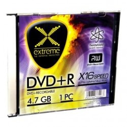DVD+R Extreme 16x 4,7GB (Slim 1)