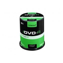 DVD-R Intenso 4.7GB X16 (100 CAKE)