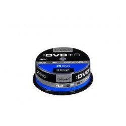 DVD+R Intenso 4.7GB X16 PRINTABLE (25 CAKE)