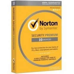 Oprogramowanie NORTON SECURITY PREMIUM 3.0 25GB PL 1 USER 10 DEVICES 12MO CARD MM
