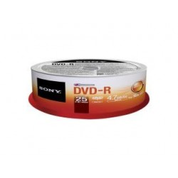 DVD-R Sony x16 4,7GB (Cake 25)