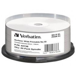 BD-R Verbatim 25GB X6 DL+ printable NO ID (Cake 25)