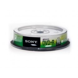 DVD+R Sony x16 4,7GB (Cake 10)