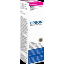 Atrament magenta w butelce 70 ml (T6733) do Epson L800/L850/L800/L850