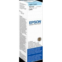 Atrament light cyan w butelce 70 ml (T6735) do Epson L800/L850/L800/L850