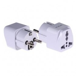 Adapter zasilania AC Akyga AK-AD-43 US/AU/UK do EU