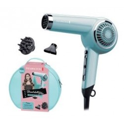 Suszarka do włosów Remington Retro Bombshell Blue D4110OB | 2000W