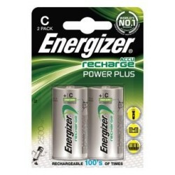 Akumulator Energizer Precharged C Power Plus 2500mAh 2 szt. Blister