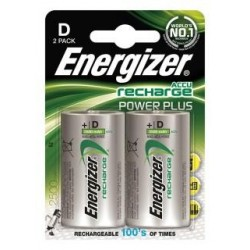 Akumulator Energizer Precharged D Power Plus 2500mAh 2 szt. Blister