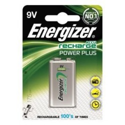 Akumulator Energizer Precharged 9V Power Plus 175mAh 1 szt. Blister