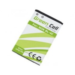 Bateria Green Cell do Nokia BL-4C 900mAh 3,7V