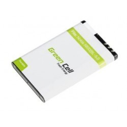 Bateria Green Cell do Nokia Lumia, Asha BL-5J, BL5J 1250mAh 3,7V