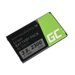 Bateria Green Cell do LG K10 K420n K430 2300mAh 3.8V