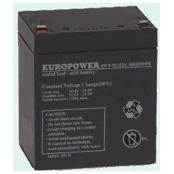 Akumulator Europower do UPS 12V 5Ah