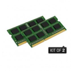 Pamięć SODIMM DDR3 Kingston ValueRAM 8GB (2x4GB) 1333MHz CL9 1,5V