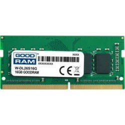 Pamięć DDR4 GOODRAM SODIMM 16GB 2666MHz  ded. do DELL (W-DL26S16G)