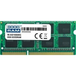 Pamięć DDR3 GOODRAM SODIMM 8GB 1600MHz  ded. do ASUS (W-AS16S08G)