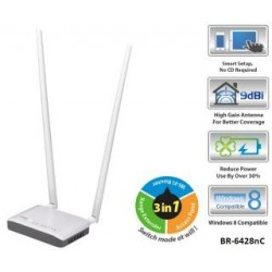 Router Edimax BR-6428nC WiFi N300 AP Repeater Anteny 9dbi