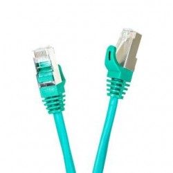 Patchcord FTP cat.5e 0.5m START.LAN zielony
