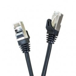 Patchcord FTP cat.5e 1m START.LAN czarny