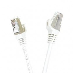 Patchcord FTP cat.5e 1m START.LAN szary