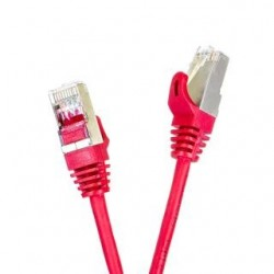 Patchcord FTP cat.5e 10m START.LAN czerwony