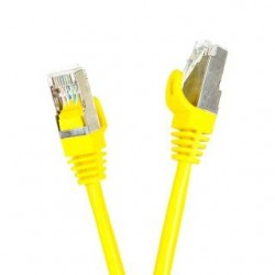 Patchcord FTP cat.5e 10m START.LAN żółty