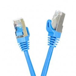 Patchcord FTP cat.5e 20m START.LAN niebieski