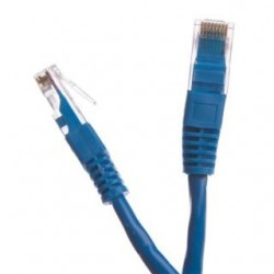 Patchcord UTP cat.6 0.5m START.LAN niebieski