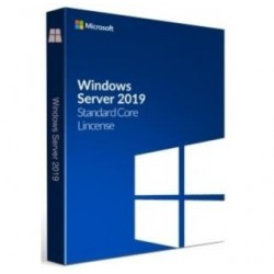 Oprogramowanie Windows Server Standard 2019 English 64bit 5CAL 16Core BOX