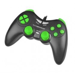 "Gamepad PC USB Esperanza ""Fighter"" czarno/zielony"