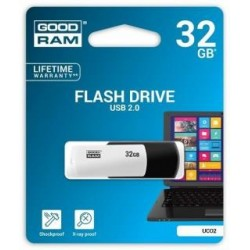 Pendrive GOODRAM COLOUR 32GB USB 2.0 Retail BlackandWhite