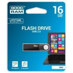 Pendrive GOODRAM 16GB URA2 USB 2.0 Black