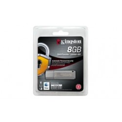 Pendrive Kingston DataTraveler Locker+ G3 8GB USB 3.0, AES 256-bit
