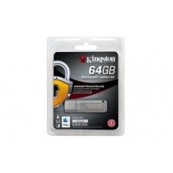 Pendrive Kingston DataTraveler Locker+ G3 64GB USB 3.0, AES 256-bit